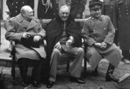 Churchill, Roosvelt, Stalin
