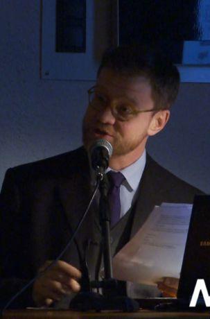 """Aleksander Laskowski, wykład """"Dyplomacja najsłynniejszego pianisty świata"""""""