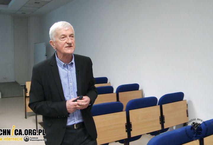 Prof. Krzysztof Rusek, wykład Fizyka jądrowa i jej zastosowania