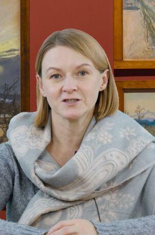 Bożena Pysiewicz wskazuje cytaty malarskie w filmach Andrzeja Wajdy